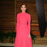 Allison Williams en la fiesta Vanity Fair tras los Oscar 2014