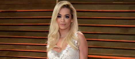 Rita Ora en la fiesta Vanity Fair tras los Oscar 2014