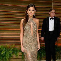 Selena Gomez en la fiesta Vanity Fair tras los Oscar 2014