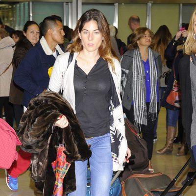 Lourdes Montes vuelve a España tras pasar el Carnaval en Venecia