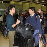 Cayetano y Fran Rivera vuelven a España tras pasar el Carnaval en Venecia