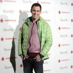 Darío Barrio en la presentación de 'Agent Cooper' de Russian Red
