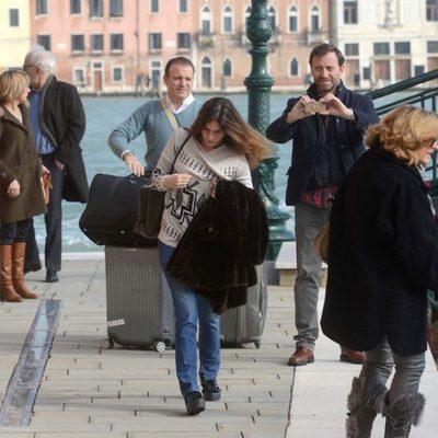 Lourdes Montes se va de Venecia