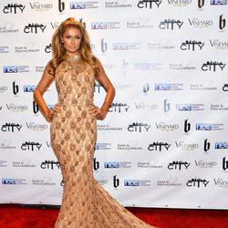 Paris Hilton en una fiesta post Oscar 2014