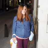 Chabelita Pantoja en Fuengirola días antes de convertirse en madre