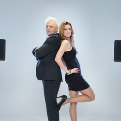 Santiago Cañizares y Mayte García en 'A Bailar!'