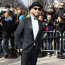 Swizz Beatz en el desfile de Chanel de la Paris Fashion Week