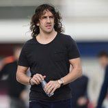 Carles Puyol anuncia que deja el Barça