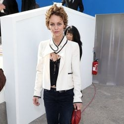 Vanessa Paradis en el desfile de Chanel de la Paris Fashion Week 2014