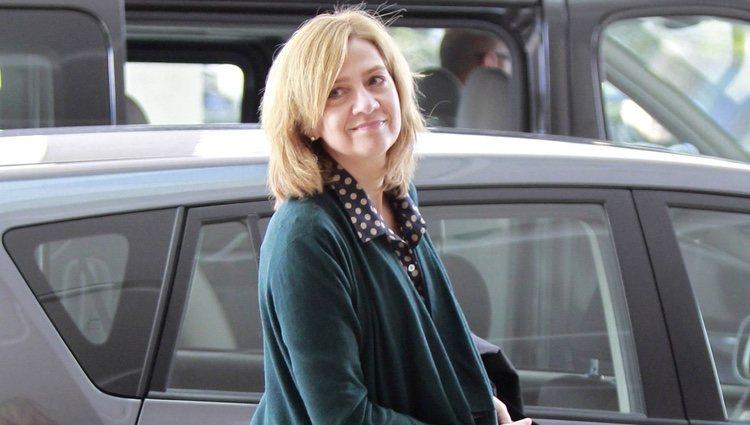 La Infanta Cristina llega a Atenas para el homenaje al Rey Pablo de Grecia
