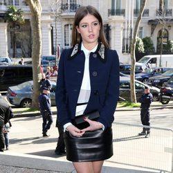 Adèle Exarchopoulos en el desfile de Miu Miu en la Paris Fashion Week 2014