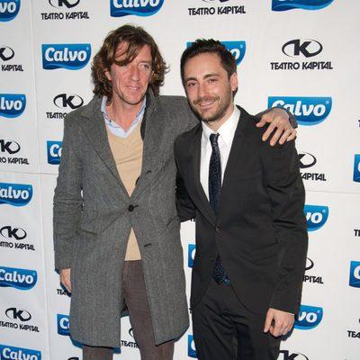 Nicolás Vallejo-Nájera y Pablo Nieto en la presentación del Team Calvo 2014 en Madrid