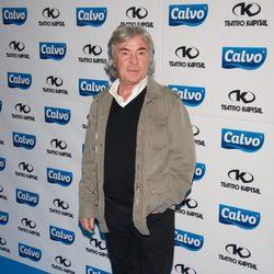 Ángel Nieto en la presentación del Team Calvo 2014 en Madrid