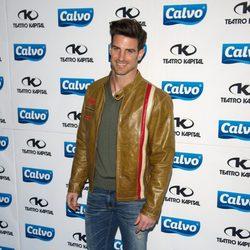 Aitor Ocio en la presentación del Team Calvo 2014 en Madrid
