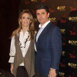 Cristina Sánchez y Alejandro da Silva en la fiesta de Morante de la Puebla