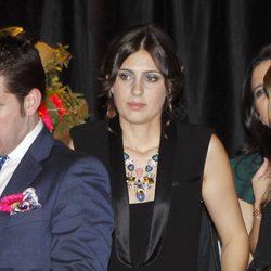 Elisabeth Garrido en la fiesta organizada por su marido Morante de la Puebla