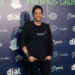 David Guapo en los Premios Cadena Dial 2013