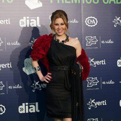 Tamara en los Premios Cadena Dial 2013