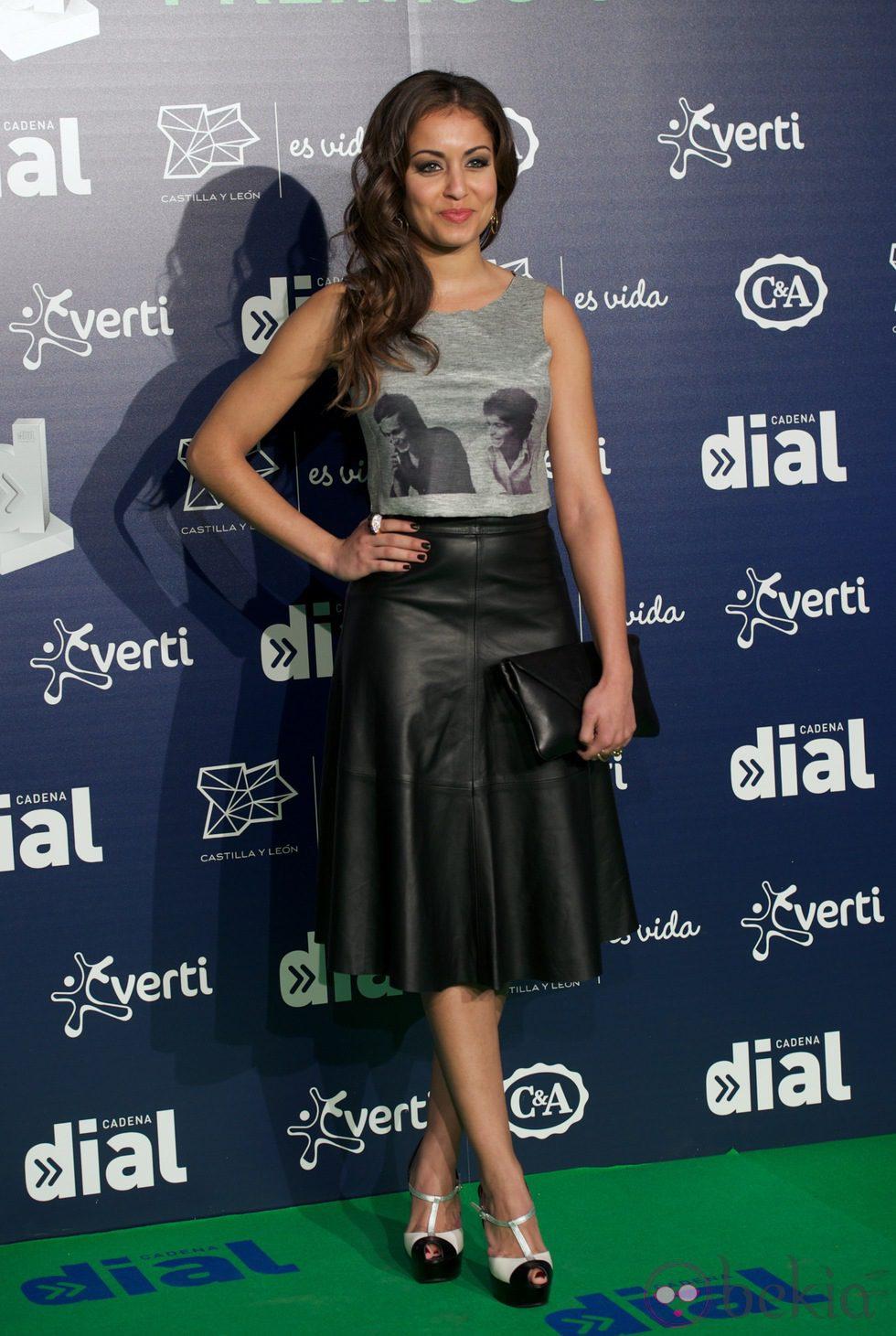 Hiba Abouk en los Premios Cadena Dial 2013