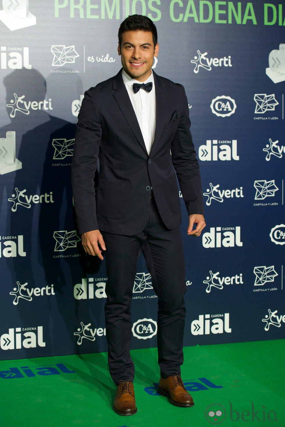Carlos Rivera en los Premios Cadena Dial 2013