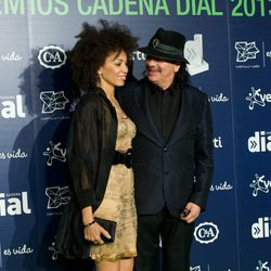 Carlos Santana en los Premios Cadena Dial 2013