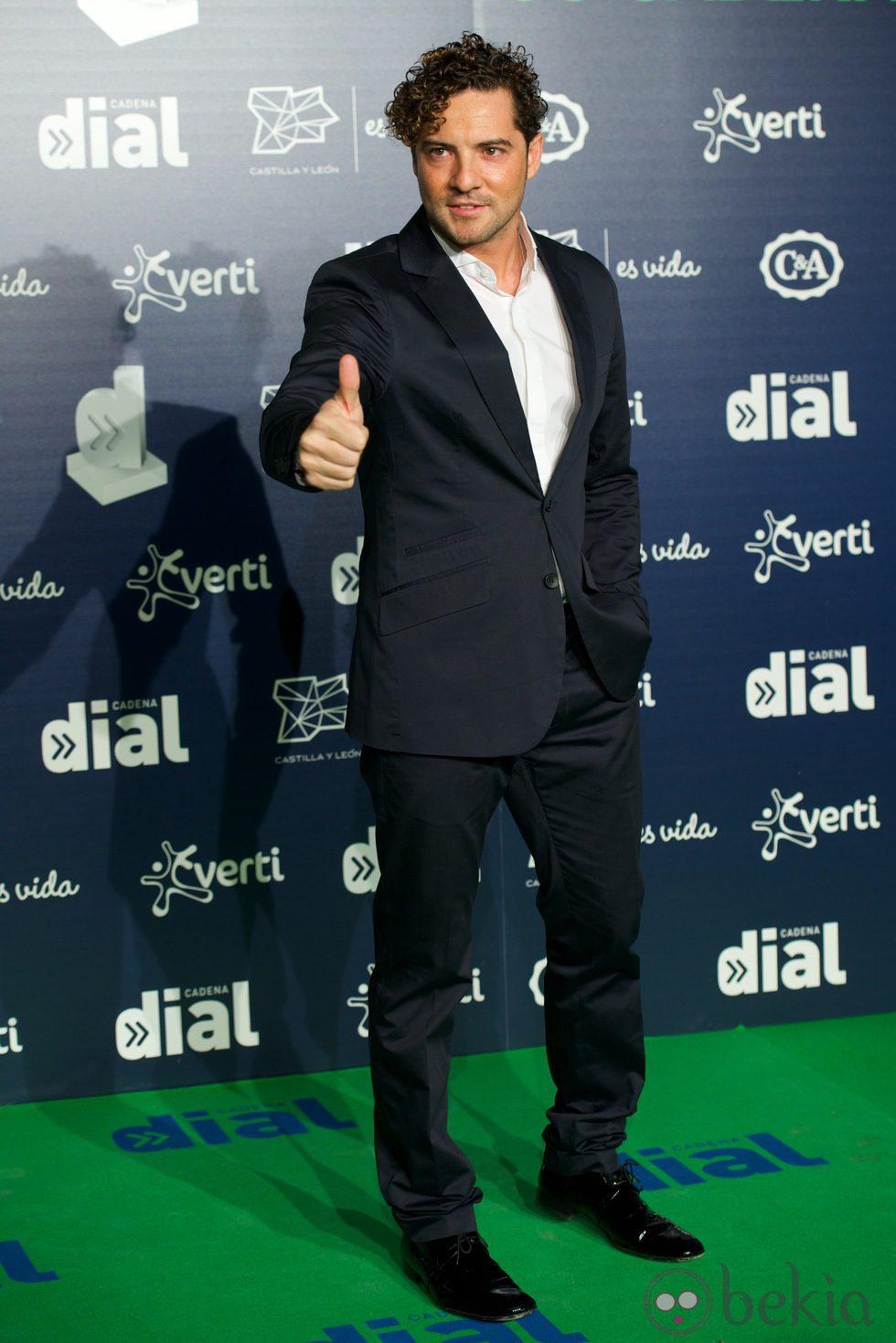 David Bisbal en los Premios Cadena Dial 2013