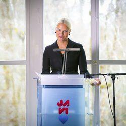 Mette-Marit en su discurso con motivo del Día Internacional de la Mujer Trabajadora