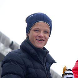 Marius Borg en el salto de esquí de Holmenkollen 2014
