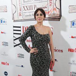 Alba García en la entrega de los Premios Unión de Actores 2014