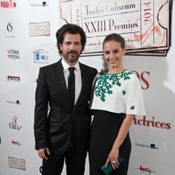 Rodolfo Sancho y Michelle Jenner en la entrega de los Premios Unión de Actores 2014