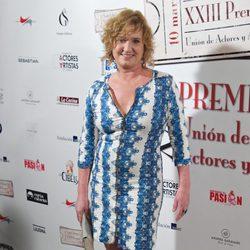 Ana Wagener en la entrega de los Premios Unión de Actores 2014