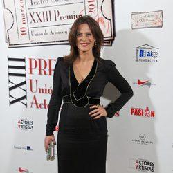 Aitana Sánchez Gijón en la entrega de los Premios Unión de Actores 2014