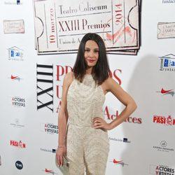Xenia Tostado en la entrega de los Premios Unión de Actores 2014