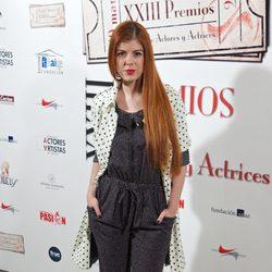 Alba Messa en la entrega de los Premios Unión de Actores 2014