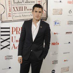 Álex González en la entrega de los Premios Unión de Actores 2014