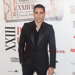 Miguel Ángel Silvestre en la entrega de los Premios Unión de Actores 2014