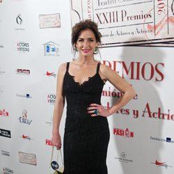 Belén López en la entrega de los Premios Unión de Actores 2014