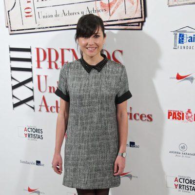 Marian Álvarez en la entrega de los Premios Unión de Actores 2014