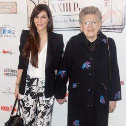 Pilar Bardem y Cecilia Gessa en la entrega de los Premios Unión de Actores 2014