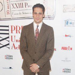 Martín Rivas en la entrega de los Premios Unión de Actores 2014