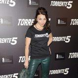 Neus Asensi en la presentación del fin del rodaje de 'Torrente 5'