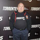 Fernando Esteso en la presentación del fin del rodaje de 'Torrente 5'