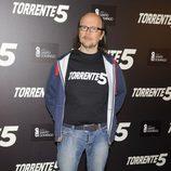 Santiago Segura en la presentación del fin del rodaje de 'Torrente 5'