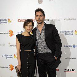 María y Paco León en la presentación del Festival de Málaga 2014