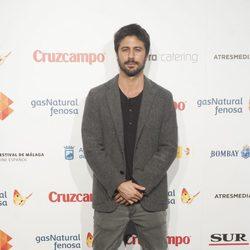 Hugo Silva en la presentación del Festival de Málaga 2014