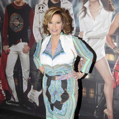 María Teresa Campos en el musical 'Hoy no me puedo levantar'
