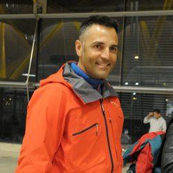 Rafa Lomana antes de poner rumbo a Honduras para participar en 'Supervivientes'