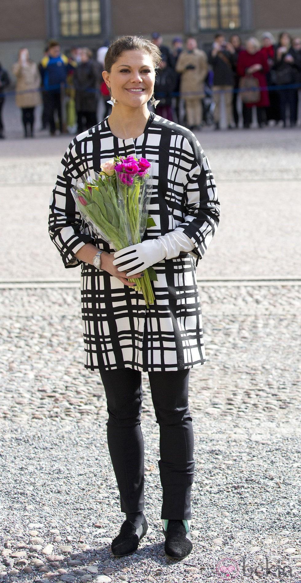 Victoria de Suecia en el Día de la Princesa Heredera