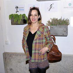 Natalia Millán en la inauguración de una tienda de David Christian