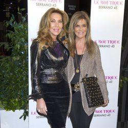 Norma Duval y Susana Uribarri en la fiesta del 42 cumpleaños de Colate